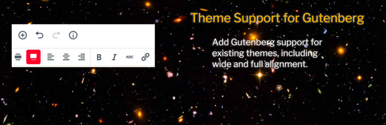 WordPress插件 - 插件分享:Theme Support for Gutenberg