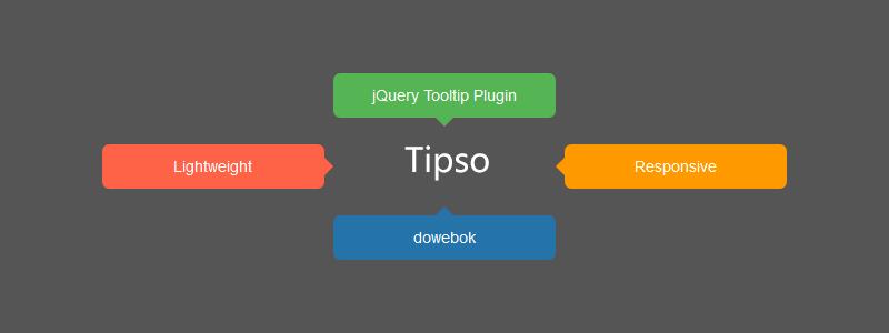 [代码样式]Tipso – 轻巧的jQuery提示框插件