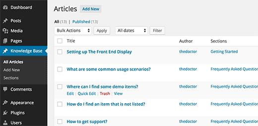 如何使用WordPress创建Wiki知识库