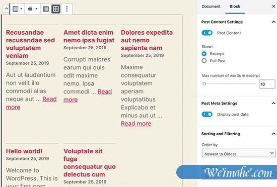 WordPress 5.3 中的新增功能说明