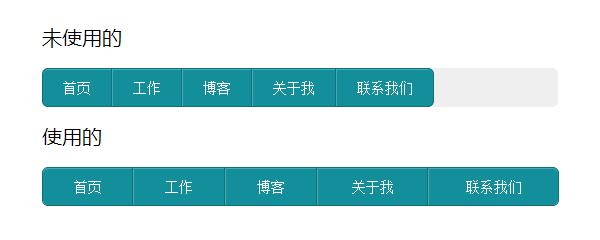 [代码样式]jQuery自适应宽度导航插件HorizontalNav