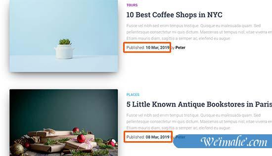 WordPress中如何排序文章顺序