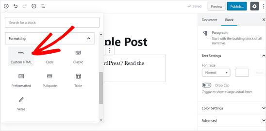 如何在WordPress博客文章中嵌入PDF,电子表格和其他内容