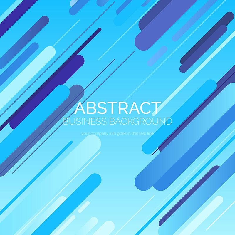 [代码样式]创意蓝色抽象背景矢量素材(EPS)