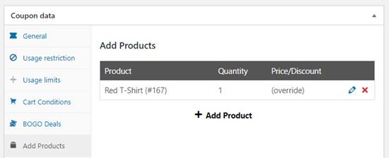 如何在WooCommerce中创建免费的礼品券