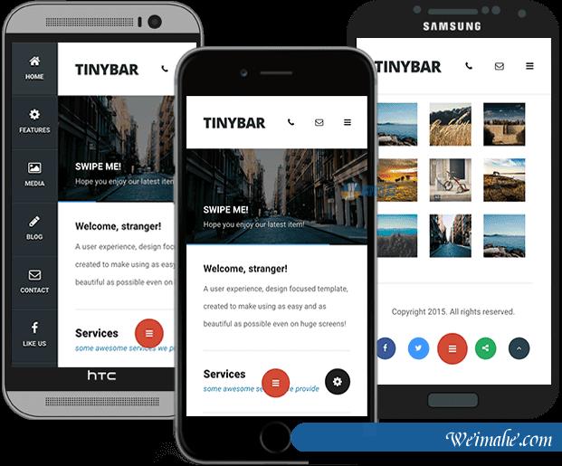 Html5手机移动端App模板-Tinyh2ar