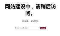 WordPress插件 - 网站设置建设中页面插件:Landing Page