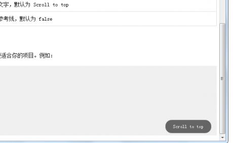 [代码样式]jQuery滚动到顶部插件scrollUp