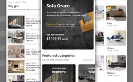家具电商购物企业官网网页-Divano