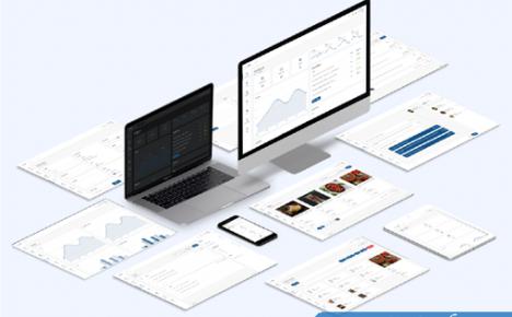 TailwindCSS样式后台管理HTML静态模板YetiAdmin